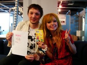 Neeko and Ivan in Sony CSL